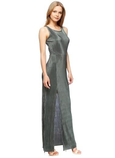 Missguided Uzun Abiye Elbise Haki